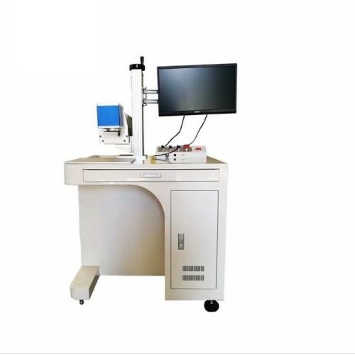 全自动喷码机口罩打标机医药包装盒熔喷布料在线紫外激光打标机