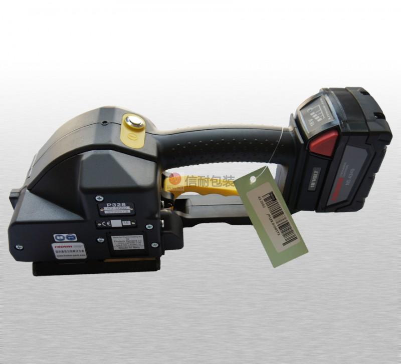 P328手提电动打包机-瑞士进口手提全自动打包机捆扎机价格