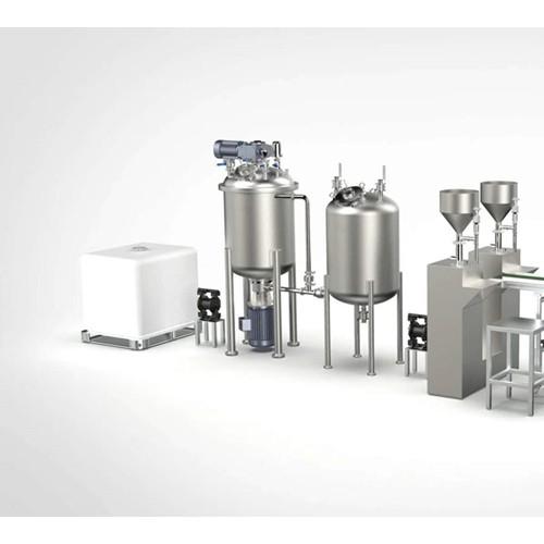 不锈钢乳化食品乳化罐消毒液生产设备
