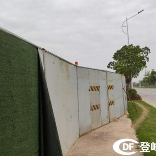 登峰轻钢结构钢板围墙围挡板出租