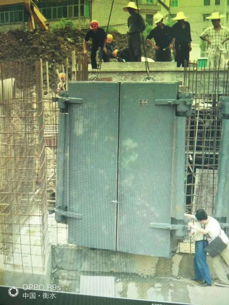 钢制方拍门  自动方拍门