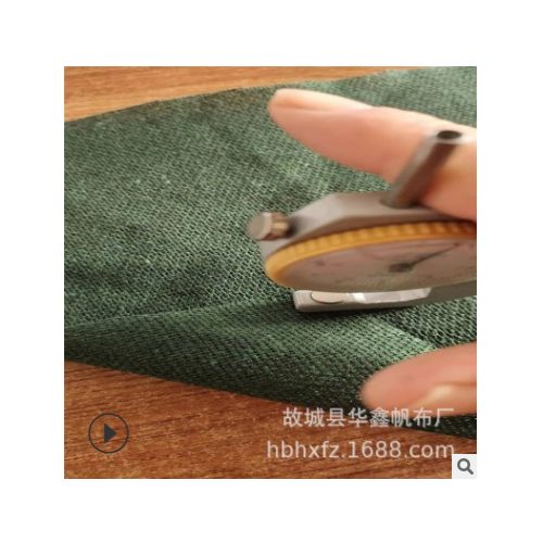 供应2*2 绿色涤棉帆布 1.5米宽度可用垫布 门帘布