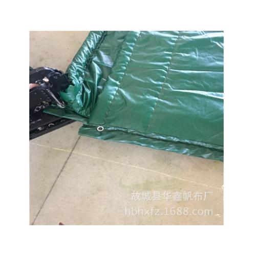 华鑫帆布厂销售加工防寒被 PVC防寒阻燃保温被