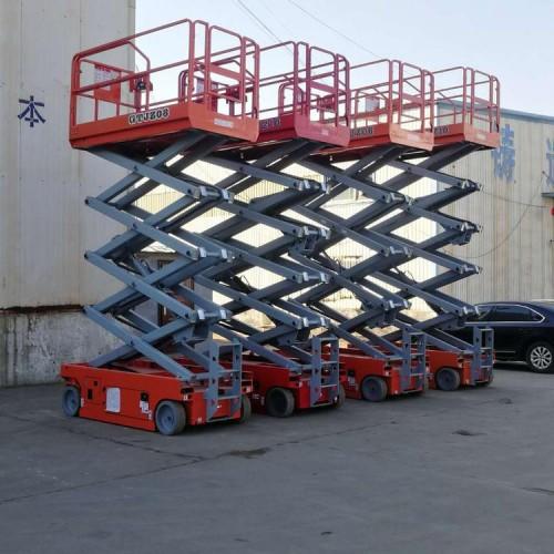 专业生产移动剪叉升降机  升降平台 自行剪叉式升降机