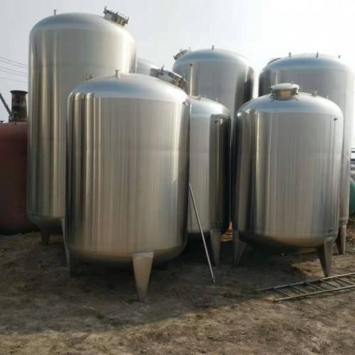 专业定制各种型号不锈钢储罐 304卫生级制药储罐大小型静置罐