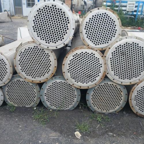 低价出售不锈钢列管冷凝器 石墨块冷凝器和搪瓷片冷凝器多根