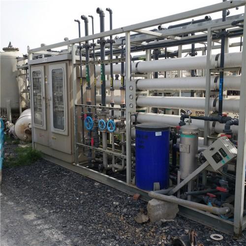 二手优质大小型单机双击超滤反渗透设备超滤EDI整套水处理