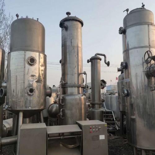 二手单循环蒸发器,二手传热设备 二手薄膜蒸发器设备