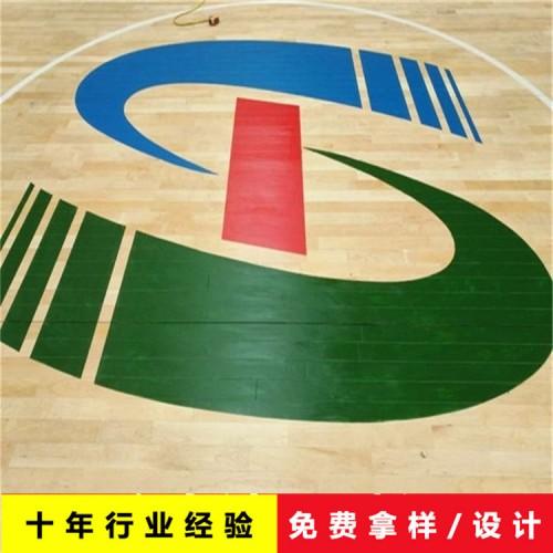 体育运动木地板 篮球场运动木地板 NBA赛事专用木地板