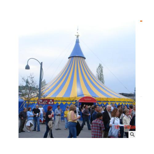 厂家定制安装户外马戏团大棚圆 扇形马戏团杂技团表演用城堡大棚