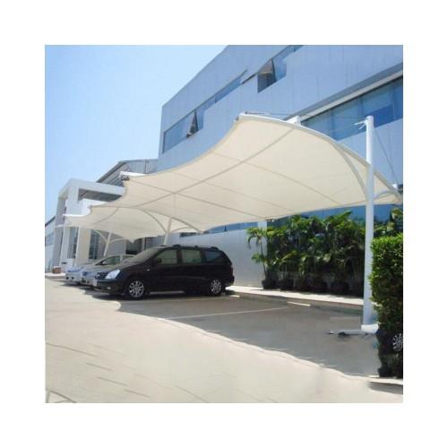 承建膜结构张拉膜结构交通设施户外膜结构汽车遮阳棚厂家定制