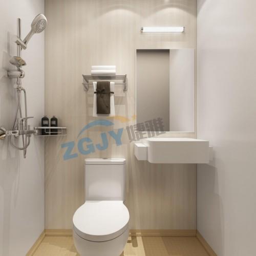 山东婕雅专业生产酒店宾馆整体卫生间整体卫浴装配卫生间卫浴设施