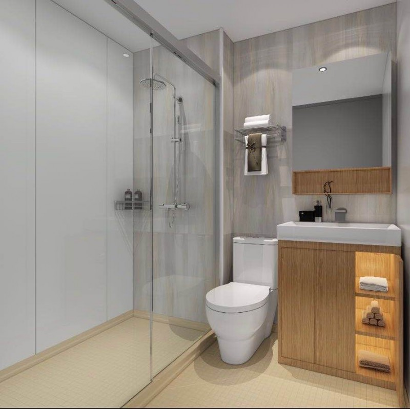 山东婕雅专业生产酒店宾馆整体卫生间,装配式卫生间