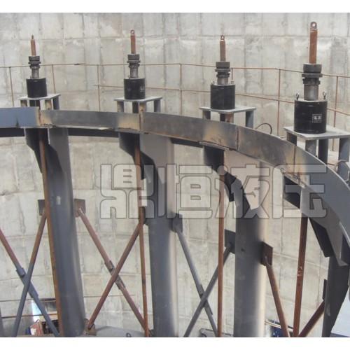 宁夏液压提升装置制造厂家/鼎恒液压机械/厂家定做液压顶升装置