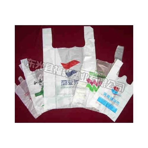 河北环保购物袋加工厂家~福森塑包~设计订做连卷购物袋