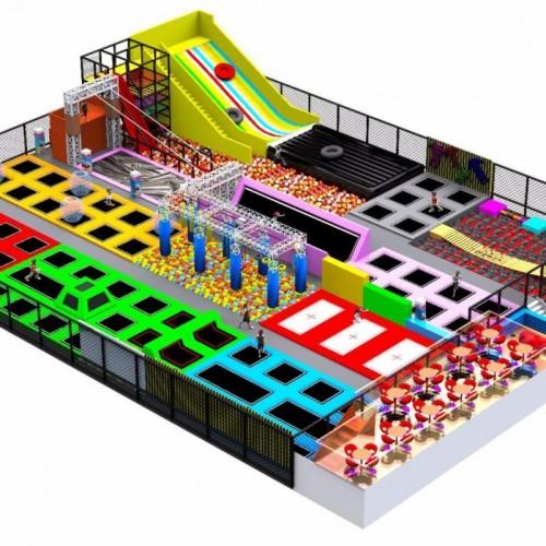 游乐园大型室内儿童乐园设备游乐场幼儿园娱乐设施