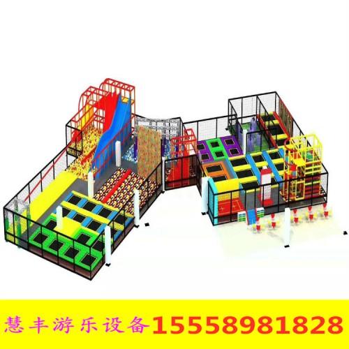 大型室内儿童乐园设备游乐场幼儿园娱乐设施 蹦床