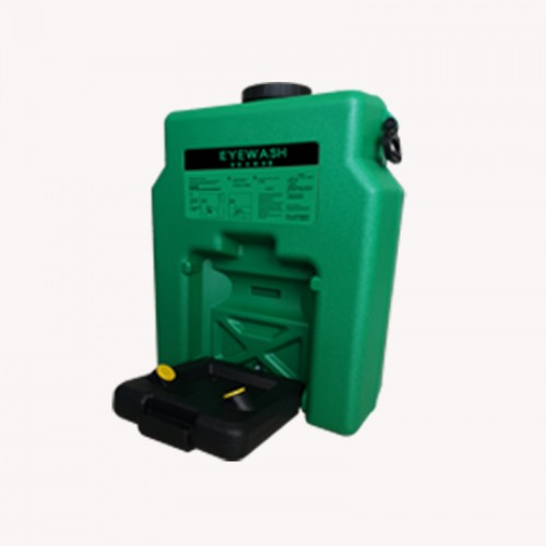 博化便携式移动洗眼桶14加仑绿