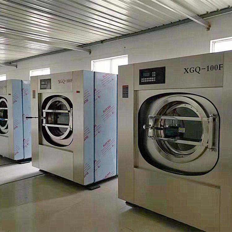 医院床单被套用洗涤设备 双开门全自动医院洗衣机