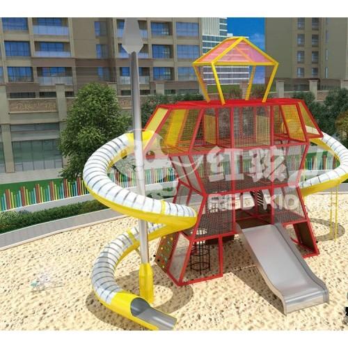 不锈钢滑梯组合厂家-儿童滑梯的价格-儿童游乐设施