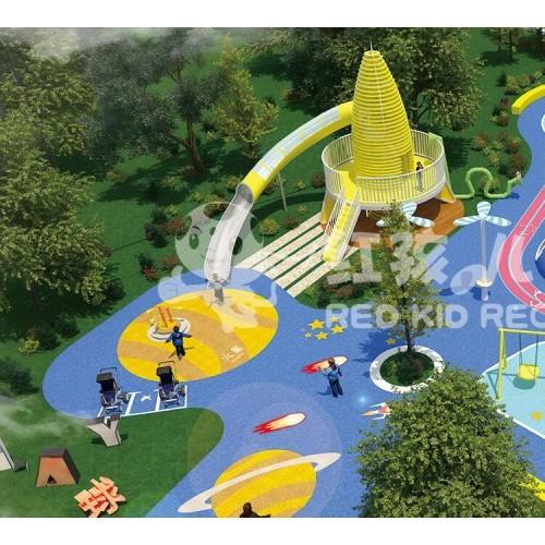 儿童大型滑梯设施-户外儿童乐园-儿童动物主题滑梯