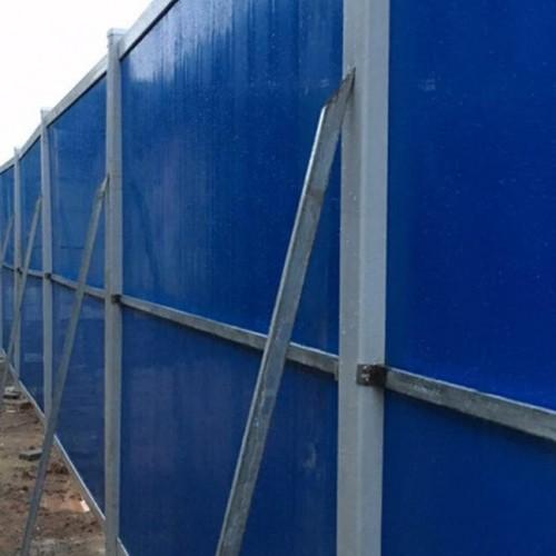 科技大学PVC围挡安装