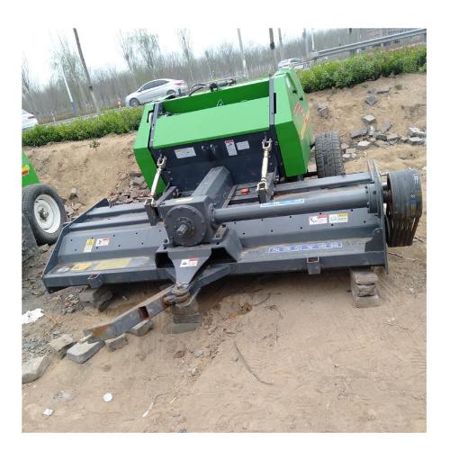 小麦玉米牧草打捆机 秸秆牧草行走式打捆机 拖拉机牵引打捆机