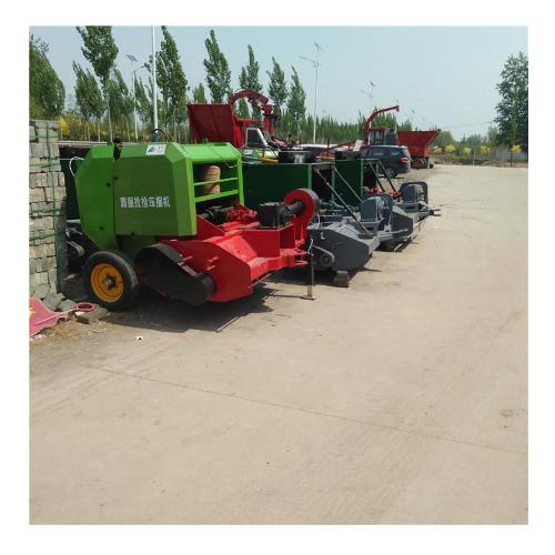 地滚刀式玉米秸秆收割青储机 牧草粉碎拖拉机式青储机