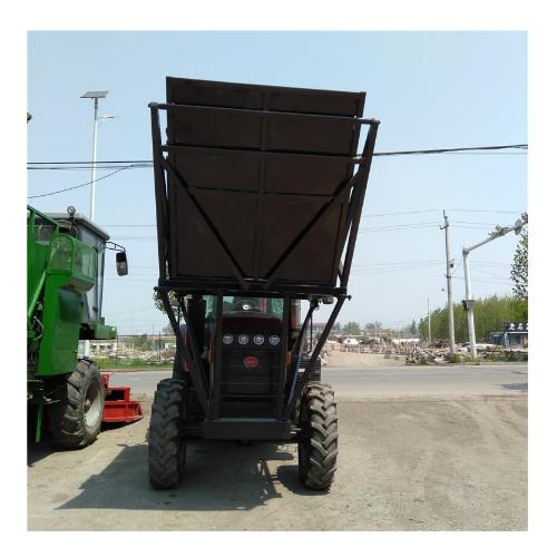 多功能拖拉机式青储机 芦苇秸秆拖拉机式青储机