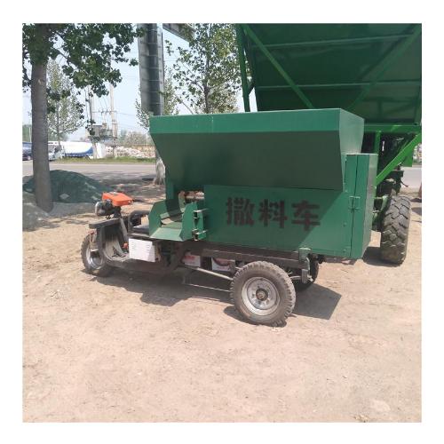 牛羊饲电动撒料机 节省人工电动撒料机牧场自动投料用电动撒料机