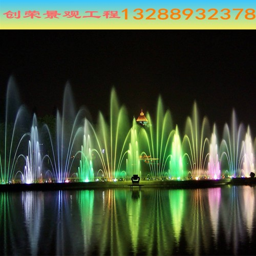 秀山秀水 激光喷泉水景 音乐喷泉厂家 园林喷泉