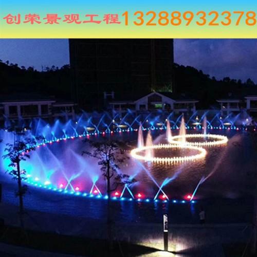 大型音乐喷泉上门施工安装-喷泉设备制造商-创荣园林