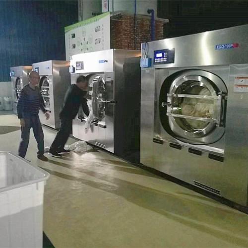医院床单衣服大型洗衣房洗涤设备隔离式医院用洗衣机