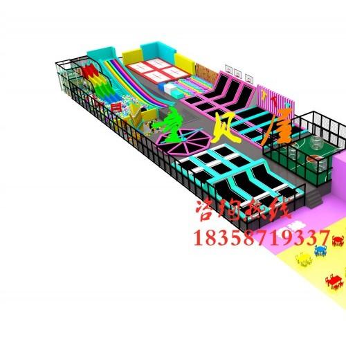 童贝屋游乐设备生产厂家   蹦床设备  淘气堡设备