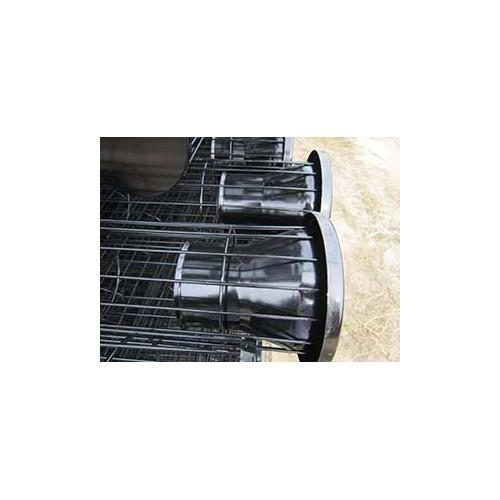 吉林长春厂家直销有机硅喷塑除尘袋笼骨架|正威|加工定制