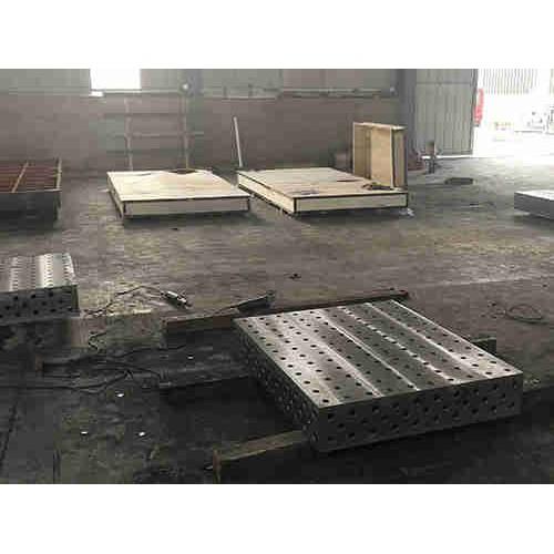 天津三维柔性平台生产企业_锐星重工机械_厂家订购三维焊接平台