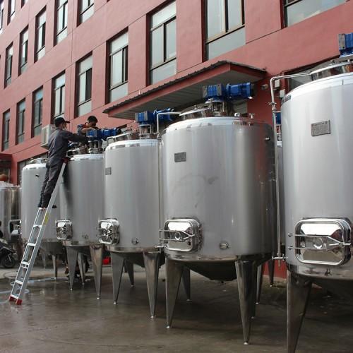 发酵罐 不锈钢发酵罐 电加热发酵罐 果酒发酵罐 啤酒发酵罐
