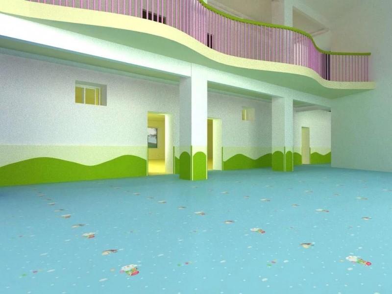 PVC幼儿园地板、PVC卷材