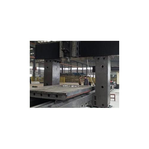 新疆大型机床铸件制造厂家/泊头腾起/机床工作台铸件