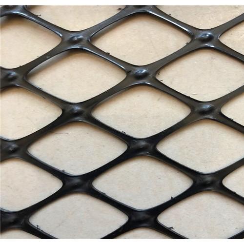 高密度聚乙烯双向拉伸塑料土工格栅土工格栅实力厂家