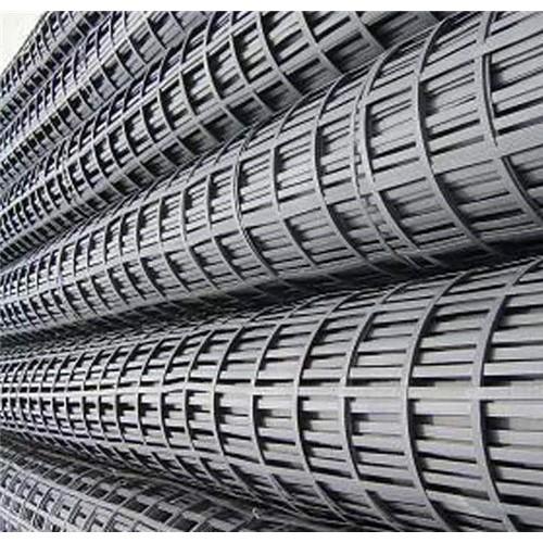 强度大钢塑复合土工格栅高强钢丝双向钢塑土工格栅