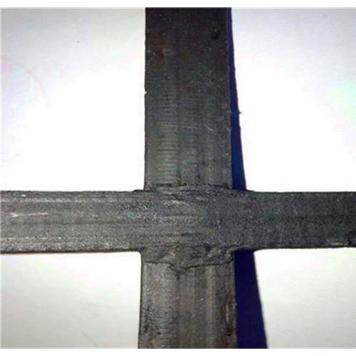 土工格栅高强钢丝双向钢塑强度大钢塑复合格栅