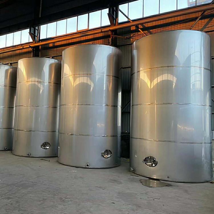 本公司专业制造304/316材质不锈钢储罐 食品级发酵罐