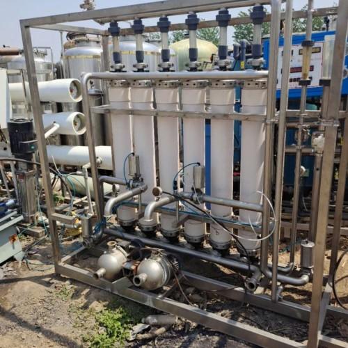 转让二手10吨双级水处理设备 二手纯净水处理设备