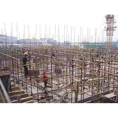 北京海淀钢管脚手架搭设/文财建材租赁站/回收项目脚手架搭设