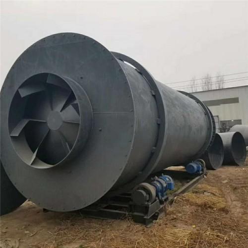 时产6吨木屑三回程烘干机 2.8X9米 9成新 配套齐全