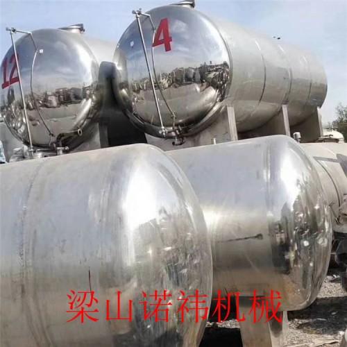 1-100立方304材质食品级储酒罐 二手防腐蚀储罐