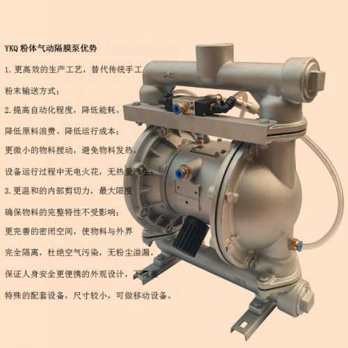 吸水泥干粉泵