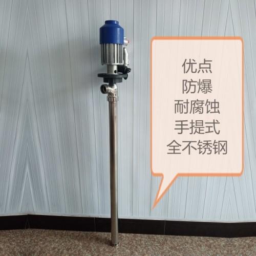 防爆电动油桶泵