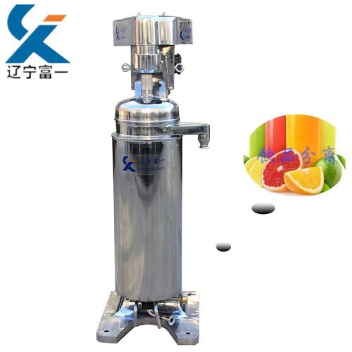 红茶凉茶分离用GF112管式离心机-辽宁富一机械有限公司